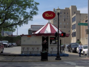 Red's Corn Dog Shack on Armory Place