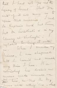 See post for transcription of letter.