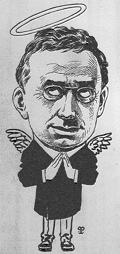 Louis D. Brandeis caricature in The Truth magazine December 14, 1912