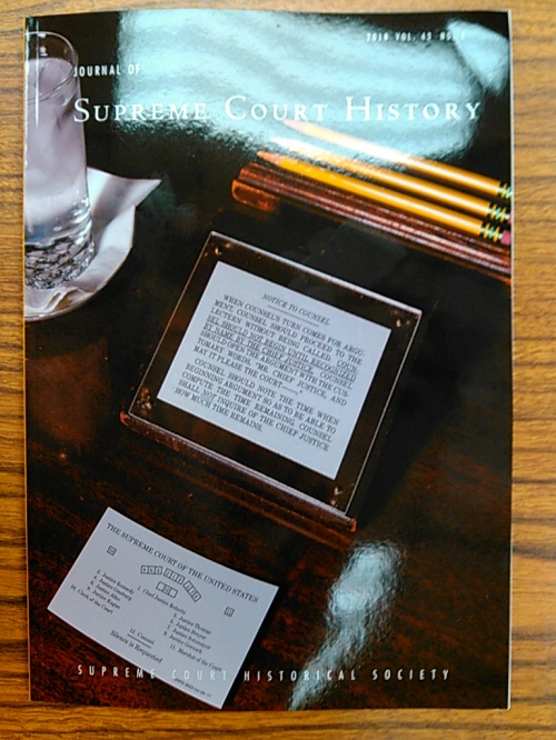 Journal of Supreme Court History